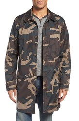 Jack Spade Men's Camo Packable Trench Coat