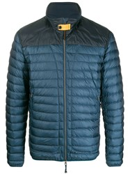 Parajumpers Contrast Yoke Quilted Down Jacket 60
