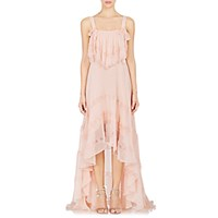 Philosophy Di Lorenzo Serafini Women's Chiffon High Low Maxi Dress Pink