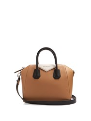 Givenchy Antigona Small Leather Tote Black Beige