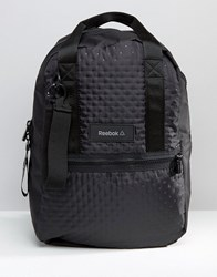 Reebok Textured Backpack Multicolour