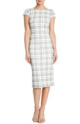 Women's Dress The Population 'Marcella' Open Back Sequin Plaid Body Con Dress Nordstrom Exclusive