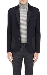 Lanvin Men's Deconstructed Two Button Sportcoat Multi