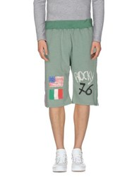 Happiness Trousers Bermuda Shorts Men Light Green