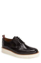 Bally 'Codrik' Wingtip Men Nero Grigio Leather