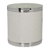Amara Ivory And Nickel Waste Bin