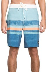 Rvca Men's Stringer Board Shorts Nile Blue