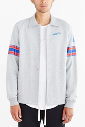 Undefeated Pro Set Coaches Jacket Grey