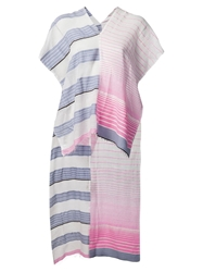 Lemlem Semi Sheer Stripe Scarf Multicolour
