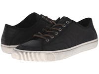 Frye Miller Low Lace Black Waxed Vintage Leather Men's Lace Up Casual Shoes