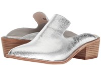 Chinese Laundry Marnie Mule Silver Metallic Clog Shoes