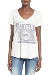 Women's Rip Curl 'Passin' Through' Graphic V Neck Tee