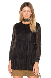 Raga More Amore Lace Tunic Black