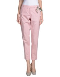 Seventy By Sergio Tegon Trousers Casual Trousers Women Pink