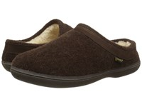 Old Friend Curly Chocolate Brown Women's Slippers