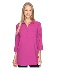 Royal Robbins Expedition Chill Stretch Tunic Aster Women's Long Sleeve Pullover Purple