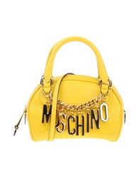 Moschino Handbags Yellow