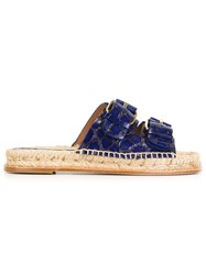 Paloma Barcelo 'Raquel' Sandals Blue