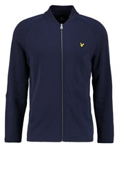 Lyle And Scott Seam Tracksuit Top Navy Dark Blue