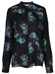 Vince Floral Long Sleeve Blouse 60