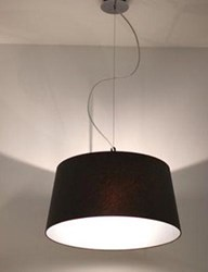 Tango Lighting S71 Big Pendant Light Black Brown Gold