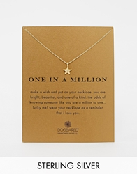 Dogeared Gold Plated One In A Million Nautical Star Necklace