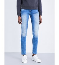 Calvin Klein Body 2.0 Skinny Mid Rise Jeans Deep Sky