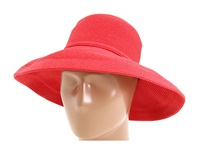 San Diego Hat Company Paperbraid Hat Large Brim Red Traditional Hats