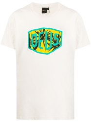 Deus Ex Machina Logo Printed T Shirt 60