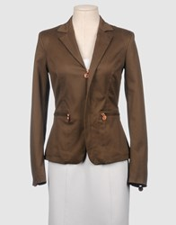 Bikkembergs Suits And Jackets Blazers Women Khaki