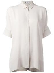 Loro Piana Loose Fit Shirt Nude Neutrals