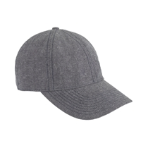 J.Crew Chambray Baseball Cap Rhapsody Blue