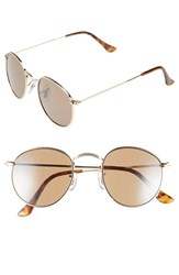 Women's Icon Eyewear 48Mm Round Sunglasses