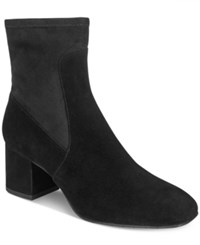 Kenneth Cole New York Women's Nikki Block Heel Booties Women's Shoes Black