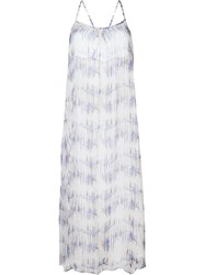 Heidi Klein 'Venice Beach' Spaghetti Strap Maxi Dress White