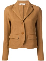 Barena Relaxed Blazer Brown