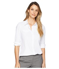 Lysse Brinkley Button Down White Clothing