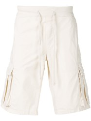 Woolrich Classic Cargo Short Nude And Neutrals