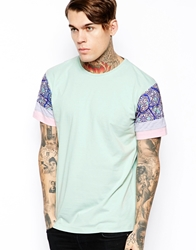 The Cuckoo's Nest The Cuckoos Nest T Shirt With Shoulder Print Green