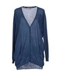 Twenty Easy By Kaos Knitwear Cardigans Women Slate Blue