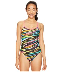 Tyr Ravana Trinityfit Black Multi Women's Swimsuits One Piece