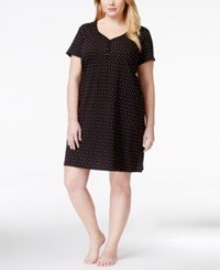 Charter Club Plus Size Henley Sleepshirt Only At Macy's