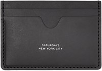 Saturdays Surf Nyc Black Ryan Card Holder
