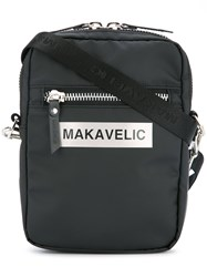 Makavelic Ludus Box Logo Pouch Bag Black
