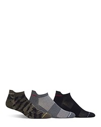 Polo Ralph Lauren Assorted Low Cut Sport Socks Pack Of 3 Olive