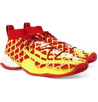 Adidas Consortium Pharrell Williams Cny Crazy Byw Primeknit Sneakers Red