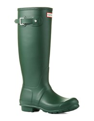 Hunter Original Tall Wellington Rain Boots Green