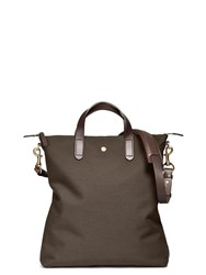 Mismo M S Shopper Pine Green Dark Brown