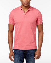 Brooks Brothers Red Fleece Men's Pique Knit Cotton Polo Pink
