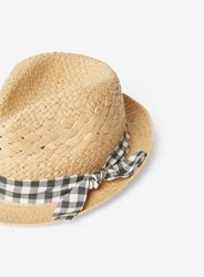 Dorothy Perkins Multi Coloured Gingham Band Trilby Hat